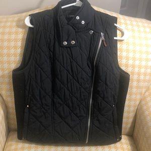 Lauren by Ralph Lauren Black Vest Size L